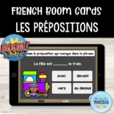 Les prépositions: Cartes Boom/FRENCH Boom Cards