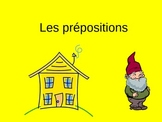 Les prepositions French Preposition Power Point PPT