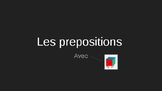 Les prepositions (PowerPoint)