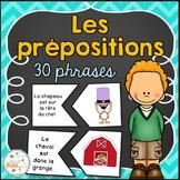 Les prépositions - Puzzles/Casses-tête - French prepositions of place