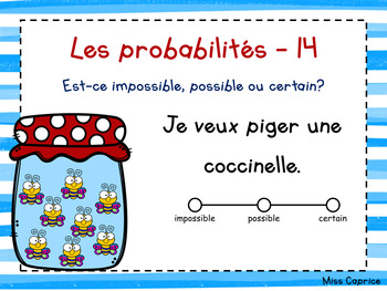 Les probabilités - 2e année - Cartes à tâches