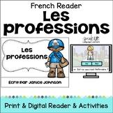 Les professions/les métiers ~ French Occupations/Jobs Reader plus BOOM™ version