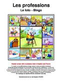 Les professions - Le loto - Bingo