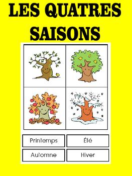 Les quatres saisons - un petit livre pour les enfants
