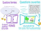 """Les questions """"ouvertes"""" et """"fermées"""" en français."""