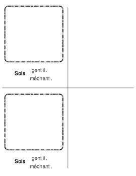 Les regles a l'ecole / School rules book
