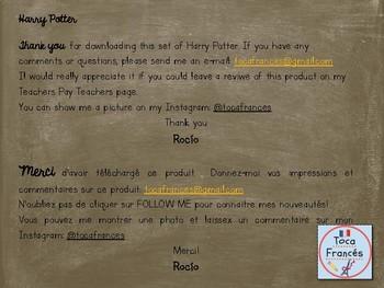 Les règles pour la salle de classe selon HARRY POTTER
