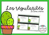 Les cartes à tâches : Les régularités FRENCH MATH TASK CARDS