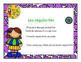 Les régularités - 3e année