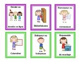 Les responsabilités de classe / classroom jobs FRENCH