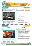 Les restaurants - French Speaking Activity