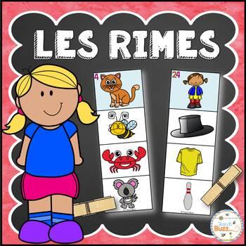 Les rimes - Trouve la rime - French Rhymes