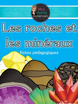 Les Roches Et Les Mineraux Unite 6 Lecons Amusantes Dynamiques