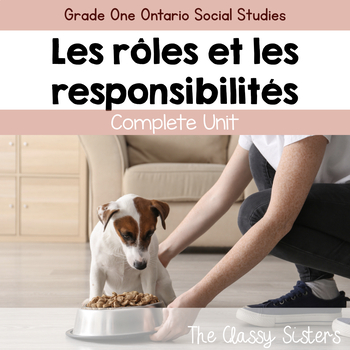 Grade 1 Social Studies Roles and Responsibilities (French)