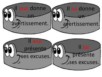 Les rondelles pronoms