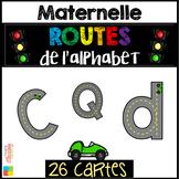 Les routes de l'alphabet / Alphabet Road Mats