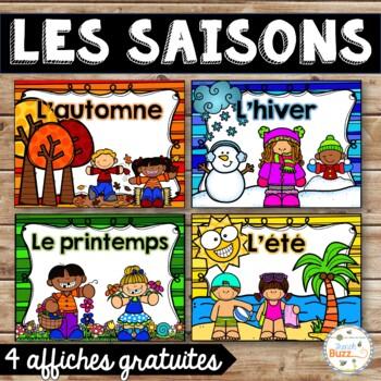 Les saisons - Affiches gratuites - French Seasons Posters