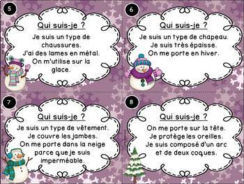 Les saisons - Ensemble de cartes à tâches - Seasons Task Cards