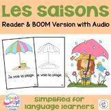 Les saisons ~ French Seasons Reader {français} ~ + BOOM™ Version with Audio