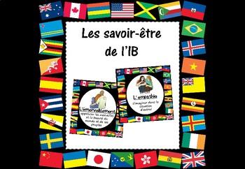 Les savoir-être (IB PYP/MYP Attitudes Posters) in French