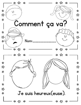 Les sentiments! French Emotions