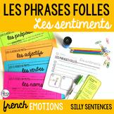 Les sentiments French emotions Les phrases folles