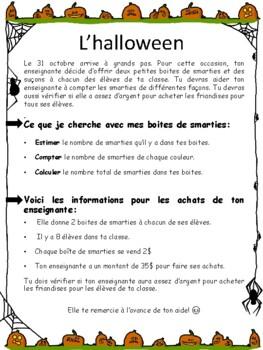 Les smarties de l'Halloween ( 1 année)