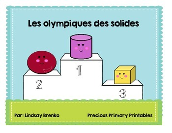 Les solides- 3D solids story to introduce a topic or unit