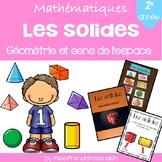 Les solides (Géométrie et sens de l'espace) - 2e année