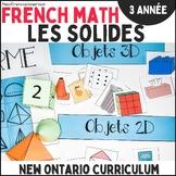 Les solides (Géométrie et sens de l'espace) - 3e année