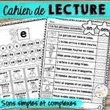 Les sons - Cahier de lecture - French Sounds - Ensemble