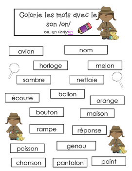 French Sounds- Les sons- Decoding + Reading