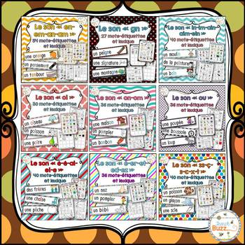 Les sons - Mur de mots et lexique - Ensemble - Growing Bundle
