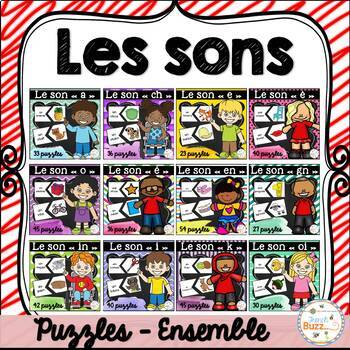 Les sons - Puzzles - Ensemble - Bundle
