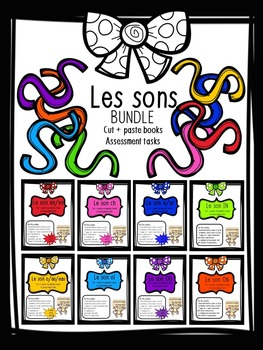 Les sons activity pack BUNDLE - ou, on, in, oi, ch, an/en, o/au/eau, é/er
