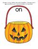 Les sons, c'est du bonbon (French sounds) Halloween