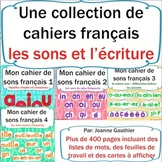 Les sons et l'écriture en français:collection{French Phonics and Writing Bundle}