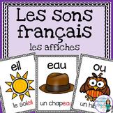 Les sons français:  French Sound Posters