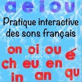 Les sons français:une pratique interactive (French Phonics Interactive Practice)