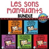 Les sons manquants:  French Sounds Digital Task Cards Bund
