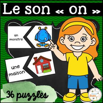 "Les sons ""on-om"" - 36 puzzles"
