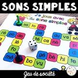 Les sons simples - jeux de société - French Simple Sounds Game