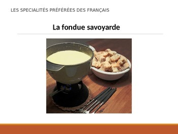 Les spécialités préférées des Français - French people favorite food