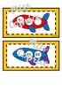 Les suites de l'avion - 50 à 100 - Cartes à tâches - 1re année