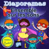 Les superhéros des sons - Ensemble de diaporamas