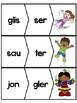 Les syllabes - 60 puzzles de 2 syllabes - Série 3 - French Syllables