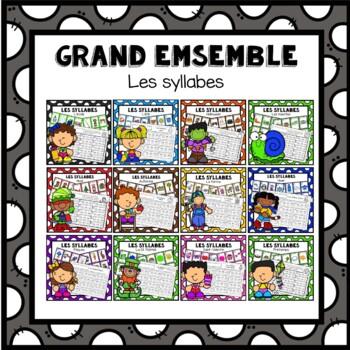 Les syllabes - Bundle -Grand ensemble
