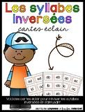 Les syllabes inversées - cartes éclair
