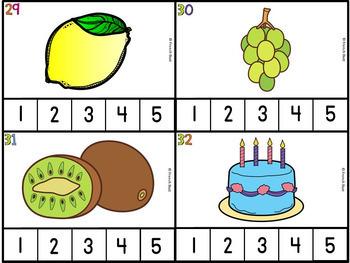Les syllabes - compte le nombre de syllabes - 60 cartes