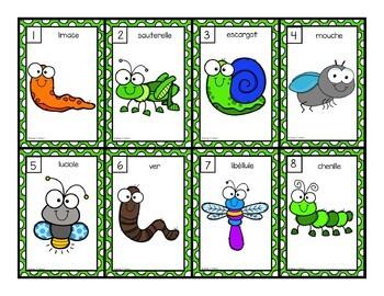 Les syllabes - insectes